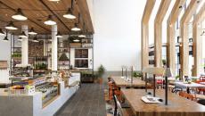 intérieur design commerce café moderne