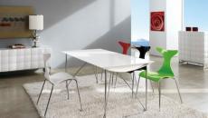 chaises design couleurs différentes