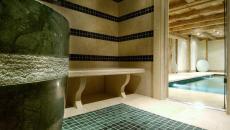 spa bain rustique chalet de location luxe