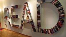 typographique étagère read maison