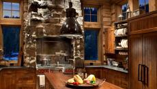 ambiance de prestige luxe cuisine en bois