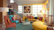 décoration design intérieur retro