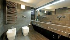 Salle de bain design moderne et luxueux