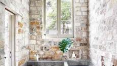 La salle de bain rustique dans toute sa splendeur
