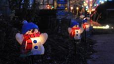 accessoires déco Noël espaces extérieurs jardin