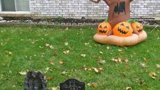 Idées décoration Halloween jardin espace outdoor