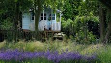 cabane de jardin romantique design créatif