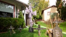 décoration Halloween jardin outdoor diy