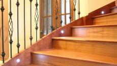 led escalier