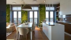 cuisine ouverte luminaire LED spots