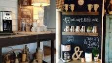 décoration meuble de café cuisine sympa
