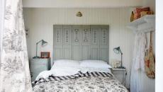 draps de lit motif floral sobre