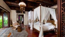 intérieur romantique villa de vacances fidji