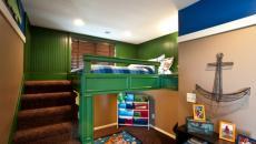 thème déco aquatique pour cette chambre d'enfant
