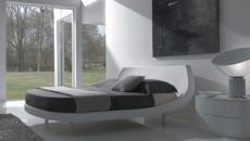 mobilier design italien blanc chambre moderne