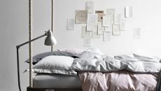 lit suspendu original minimaliste chambre