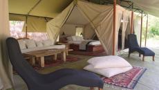 tente de luxe pour safari au Kenya