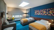 chambre aux lits séparés Tobaco hotel