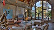 séjour magniqique villa de montagne prestige grand standing