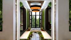 Influence zen lac décoratif intérieur