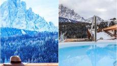 location de ski hôtel montagne chic