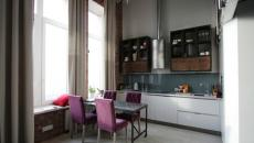loft hauteur plafond cuisine moderne