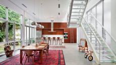design lumineux séjour loft moderne