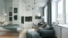 Intérieur Design Maison En Gris · Intérieur Design Appartement Contemporain  Chic