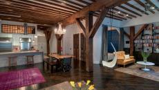 Bois massif loft inspiration rustique