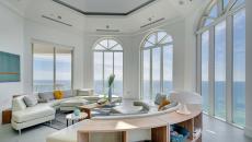 lumière naturelle séjour moderne design luxe