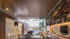 éclairage LED maison salon moderne séjour