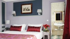 intérieur accueillant suite luxe hôtel paris