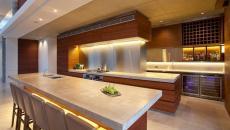cuisine moderne béton bois design original