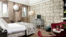 intérieur design chic luxe suite hotel rome