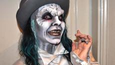 terrifiant maquillage homme Halloween