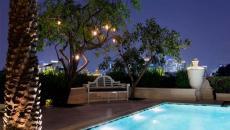 grande terrasse luxe piscine avec vue