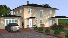 visualisation 3D maison familiale CAO