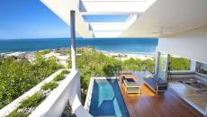 terrasse en teck exotique villa