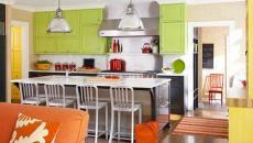 ambiance multicolore cuisine moderne us