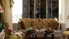 décoration d'intérieur éclectique salon