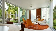 salon naturel design retro lumière naturelle