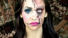 original et créatif exemple maquillage Halloween