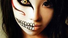maquillage artistique effrayant original