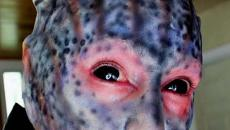 maquillage pro terrifiant halloween homme