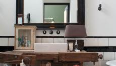Meuble industriel salle de bain design