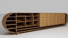 meuble bas designer italien