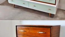 mobilier vieillot rénové remodernisé