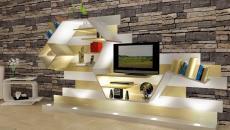 meuble de tv original design italien