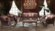 ambiance tamisée meubles d'antan originaux