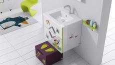 salle de bains sympa enfant